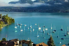 Lake Thun (-WANLOP) Tags: travel lake canon switzerland europe 85mm thun 2009 ef85mmf18 eos5dmarkii