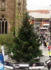 Bull Ring Christmas Tree (MJ_100) Tags: christmas city uk winter decorations england tree birmingham westmidlands bullring