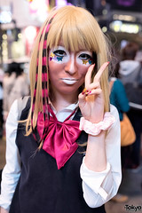 Halloween Costumes on the Streets of Tokyo (tokyofashion) Tags: street costumes halloween japan tokyo costume cosplay shibuya  halloweencostumes