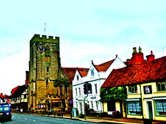 St John the Baptist Church (MickyFlick) Tags: history tourism church architecture rural town medieval tourists architectural historic historical charming highstreet markettown warwickshire touristattraction henleyinarden touristdestination churchofstjohnthebaptist mickyflick