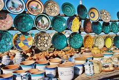 Along the road...Morocco (EXPLORE) (stevelamb007) Tags: africa colorful ceramics market explore morocco oldphoto plates tangier tetuan tetouan mdiq stevelamb explore1222015
