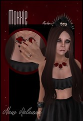 ~:: Roxanne ::~ (moxxieshade) Tags: life dark blog goth secondlife blogging second accessories jewlery ja siren bloodred