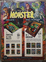 Monster Wallets And Plaques (Donald Deveau) Tags: magazine ads famousmonsters monsterwallets monsterplaques