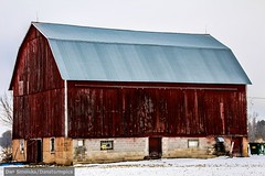 Old worn down barns of Northeast WI (Dan's Storm Photos & Photography) Tags: nature buildings landscape landscapes farm rustic barns farms schoolhouse oldhouses rusticbarns