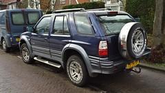 Jiangling Landwind 2.0 16V (sjoerd.wijsman) Tags: auto blue holland cars netherlands car blauw nederland thenetherlands voiture bleu holanda paysbas olanda fahrzeug bluec