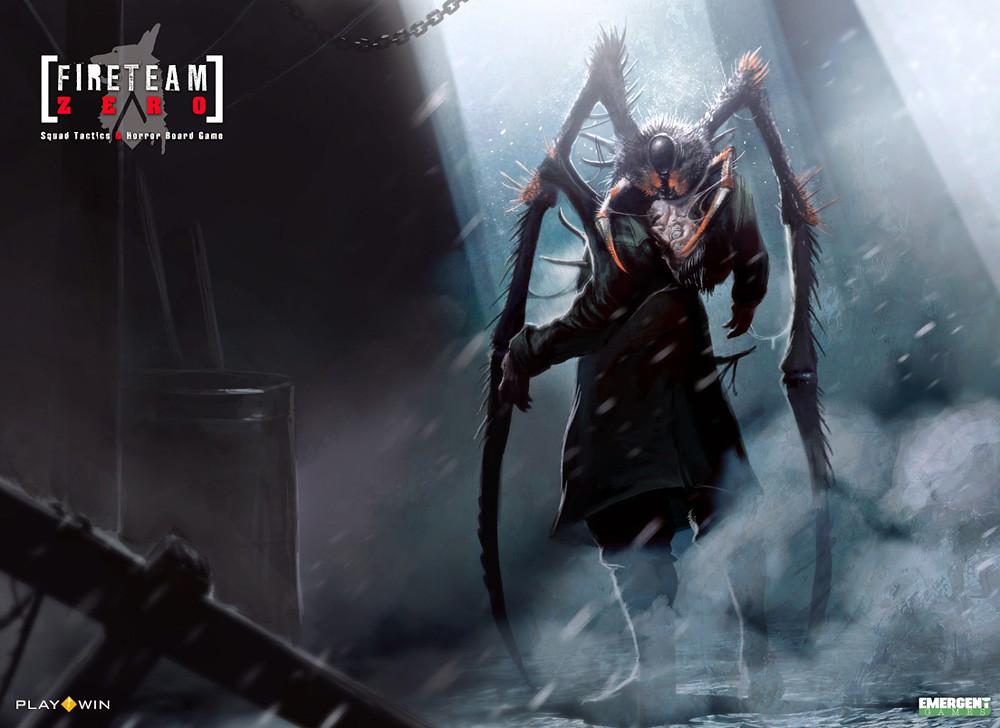 Illustration - Kickstarter Fireteam Zero