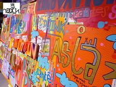 Live painting de Tarek lors du Monin cup 2014   (Pegasus & Co) Tags: urban streetart art colors painting graffiti arts dessin menatwork rue bd artistes  urbain tarek
