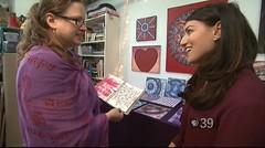 "PBS39 Interviews Stephanie Smith Mandala Artist: Spirit of Art (Stephanie ""Biffybeans"" Smith) Tags: abstract art geometric modern artist talk mandala sacred abstractio"