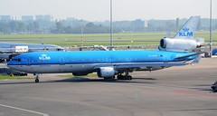 KLM Royal Dutch Airlines McDonnell Douglas MD-11 PH-KCD (Mark 1991) Tags: amsterdam klm schiphol ams md11 schipholairport mcdonnelldouglas royaldutchairlines amsterdamairport amsterdamschiphol phkcd amsterdamschipholairport