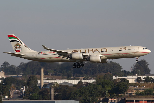 Etihad Airways | Airbus A340-500 @ GRU
