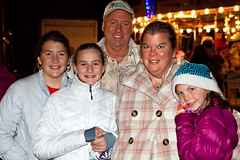 2014 Old Fashioned Village Christmas - Tiger Family (BabylonVillagePhotos) Tags: santa christmas old people horse kids night shopping fun commerce village ride carraige carousel chamber claus babylon clause chamberofcommerce fashioned