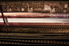 Ghost train (plastAnka) Tags: longexposure train copenhagen denmark ghost handheld canoneos50d østerportstation tamronafsp175028xrdiiildaspherical