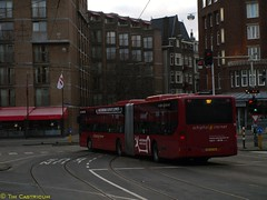 Connexxion 9126, Lijn 197, Leidsebosje (2014) (Library of Amsterdam Public Transport) Tags: bus netherlands buses amsterdam nederland cx publictransport autobus paysbas citybus openbaarvervoer autobuses vervoer stadsarchief stadsbus connexxion tram5 cxx localbus streekbus communterbus