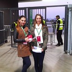 Hostese na nogometni tekmi Olimpija:Domžale, 28.10.14