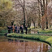 Bülent Ecevit, Monet House visit, Paris, April 1974