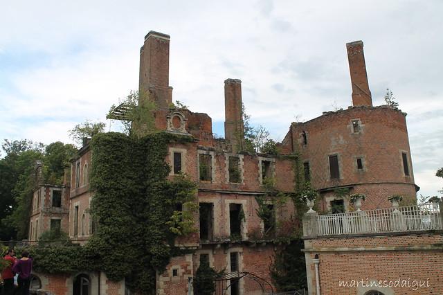 Quel malheur ! Les ruines du Château de Randan (63)