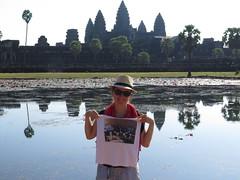 """Mes élèves au Temple d'Angkor <a style=""""margin-left:10px; font-size:0.8em;"""" href=""""http://www.flickr.com/photos/83080376@N03/16049689745/"""" target=""""_blank"""">@flickr</a>"""
