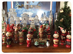 Celeste's-Photo-Johanna-Parker-Egg-Cup-Collection (Johanna Parker Design) Tags: santa christmas decorations holiday cat snowman folkart snowmen whimsical celeste eggcup johannaparker collectorspotlight