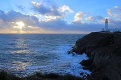 South Stack (mlomax1) Tags: sunset sea cloud seascape nature water weather canon island anglesey southstack eos600d