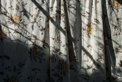 Varal (Thile Elissa) Tags: light brazil sun flores flower luz sol brasil nikon interior clothes campo clothesline mato riograndedosul varal roupa estampa lenol morroreuter d3000 nikond3000 thileelissa