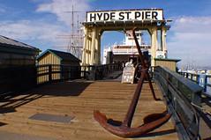 Hyde Street Pier (Dave Hamster) Tags: sanfrancisco california usa pier anchor hydestreet hydestreetpier