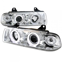 1993 BMW 3 SERIES SMOKE HALO PROJECTOR HEADLIGHTS (williamsabby31) Tags: carheadlights customheadlights bmwcarheadlights