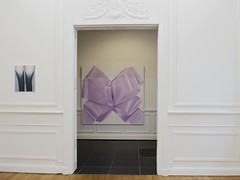 Charlotte Beaudry : Pussy Bow (Photo : Luc Vaiser) (Marc Wathieu) Tags: charlottebeaudry charlotte beaudry pussybow pussy bow yokouhodagallery yoko uhoda gallery liège belgium contemporary art painting 2014 2015 exhibition soloshow solo show belgique