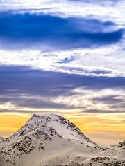 Robert Emmerich - 7 PAN Landscape panorama at sunset on the Möllertalgletscher - Austria