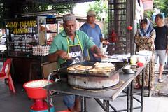 Roti canai at Ming Huat, Ujong Pasir, Melaka. (jasonkaykl) Tags: food canon melaka roticanai a480