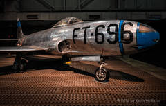 "F-80C ""Shooting Star"" (HD_Keith) Tags: usa arms aircraft military transport transportation government oh f80 usaf dayton weapons jetfighter warplane shootingstar airtransportation armaments"