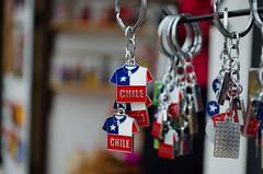Chile (Gwenlsh) Tags: chile bandera llaveros