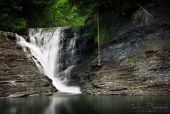 Roger Creek Falls (Lux Lab) Tags: vancouver creek port island columbia rope falls swing british roger alberni