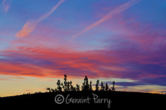 Sunset (parry101) Tags: sunset sky cloud mountain mountains wales clouds skies south sunsets caerphilly
