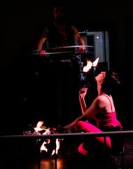 i (raymondluxury.yacht) Tags: motion danger fire dance colorado dancers streetphotography loveland firedancing tension firedancers artphotography