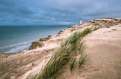 Sulle Dune (Andrea Securo) Tags: ocean lighthouse storm travelling landscape denmark seaside quiet dunes visit wanderlust dk fyr rubjerg knude
