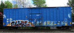 glare GH (timetomakethepasta) Tags: train graffiti glare boxcar freight gh coer syzeo