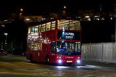 Stagecoach London 18479 (LX55 ESN) Route N86 (LFaurePhotos) Tags: street bus london night vehicle publictransport essex stagecoach eastlondon romford 18479 lx55esn routen86
