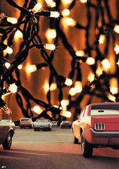 Transito (Beatriz Meneses) Tags: space art surrealism collage road car lights bright