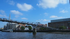 P5131407 () Tags: bridge england london thames modern river tate millennium