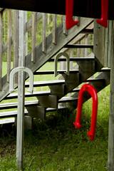 Painted shoes (Aaron Hoff) Tags: bruce cottage peninsula horseshoes
