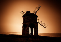 Windmill at Dawn (spiderstreaky) Tags: light summer sky sun abstract cold building english nature windmill beautiful beauty sunshine silhouette breakfast clouds sunrise dark landscape dawn countryside nikon focus exposure wildlife hill sails cotswolds hills fields dxo british rise chesterton oxfordshire sunup lightroom cotswold 500px moening dxooptics d7100