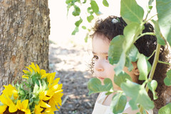 Gianna_0178 (Ciara*) Tags: girl kid toddler smiles cutie niece sunflower