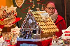 Gingerbread House, Lebkuchen (mindweld) Tags: vienna christmas austria sterreich gingerbreadhouse lebkuchen