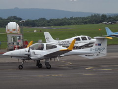 G-DMPP Diamond Twin Star 42 (Aircaft @ Gloucestershire Airport By James) Tags: star james airport twin gloucestershire diamond 42 lloyds egbj gdmpp