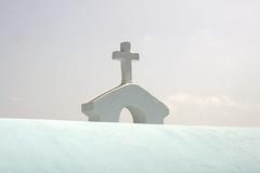 Cross (Tony Shertila) Tags: sky church weather architecture geotagged europe day cross clear greece crete grc agiosnikolaos outdor geo:lat=3518829042 geo:lon=2571979076 20160409152522
