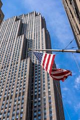 NYC-6.jpg (Patti Houston) Tags: nyc ny newyork building architecture flag americanflag thebigapple