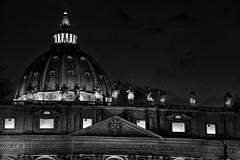 San Pietro - Nocturno (Daniele De Simone) Tags: blackwhite sanpietro stpeter
