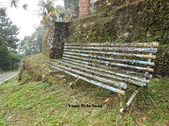 Beauty in decay (vanitpelasung) Tags: old panorama green abandoned nature grass rock bench antique hill malaysia maxwell taiping bukit perak larut