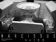 NARCISSUS54 (sith_fire30) Tags: alien narcissus nostromo shuttle lifeboat aliens isolation sevastopol covenant prometheus xenomoph sleep chamber ellen ripley weaver sigourney custom action figures sculpture art sculpting aves fixit sculpt avesstudio diorama scratchbuilding modelmaking