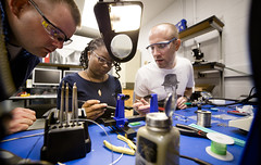 XTRM Labs - Solder Challenge (Michigan Engineering) Tags: students lab university michigan space engineering skills science research laboratory um labs physics solder xtrm sprl